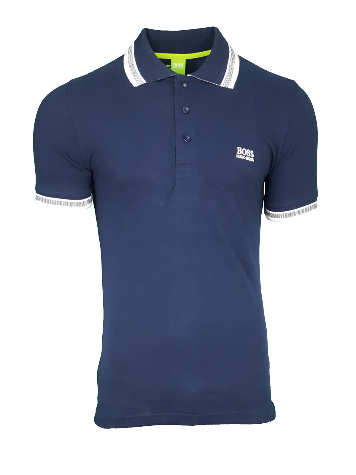 52acdb93 Hugo Boss Paddy Pro. Short Sleeve Polo Shirt. Modern Fit in Navy Blue |  INTOTO7 Menswear