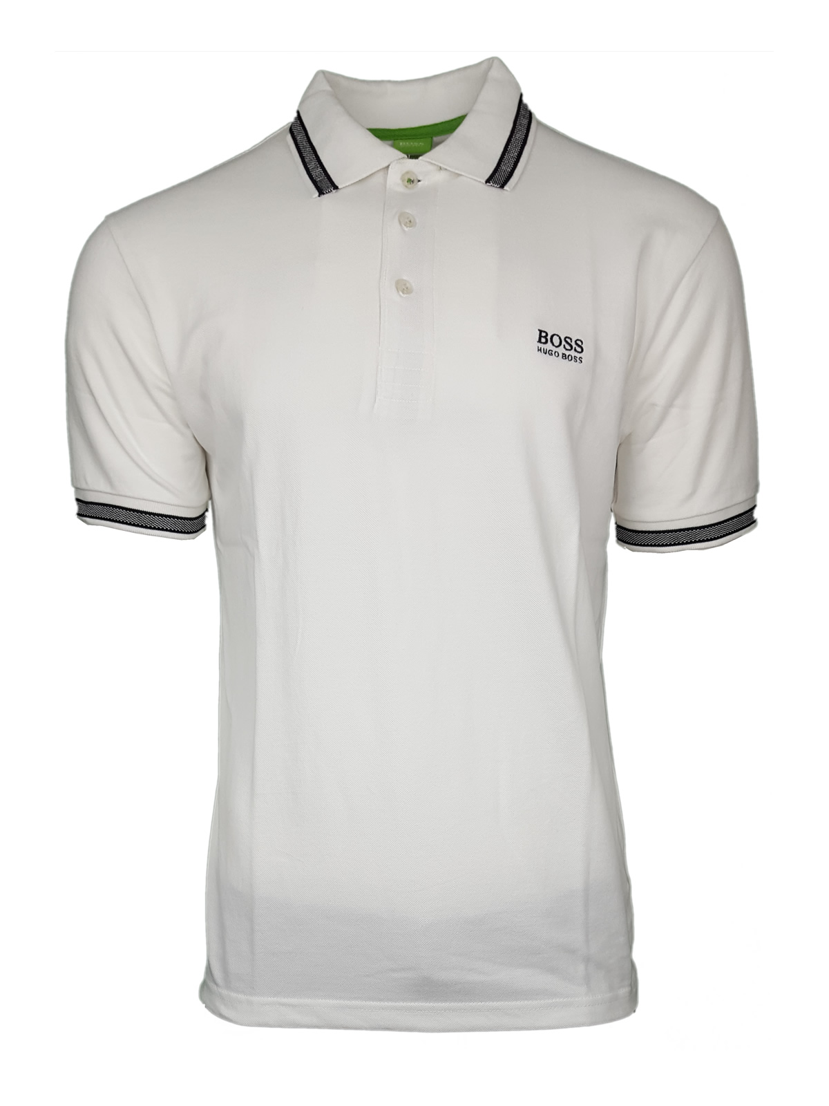 5c3c7af64 Hugo Boss Paddy Pro. Short Sleeve Polo Shirt. Modern Fit in White | INTOTO7  Menswear