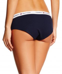 Tommy Hilfiger 3 Pack Cotton Bikini Briefs Black/Grey/Navy