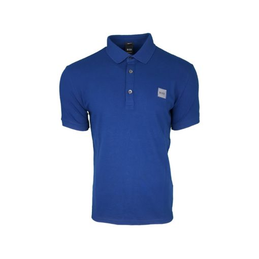 260a348f Hugo Boss Men's Pavlik Polo Shirt. Short Sleeve. Slim Fit in Indigo |  INTOTO7 Menswear