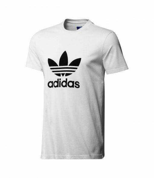 Adidas Originals Tre Foil White Short Sleeve Crew T Shirt
