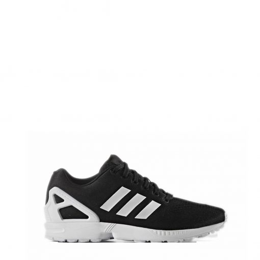 Adidas ZX Flux trainers Black White Side