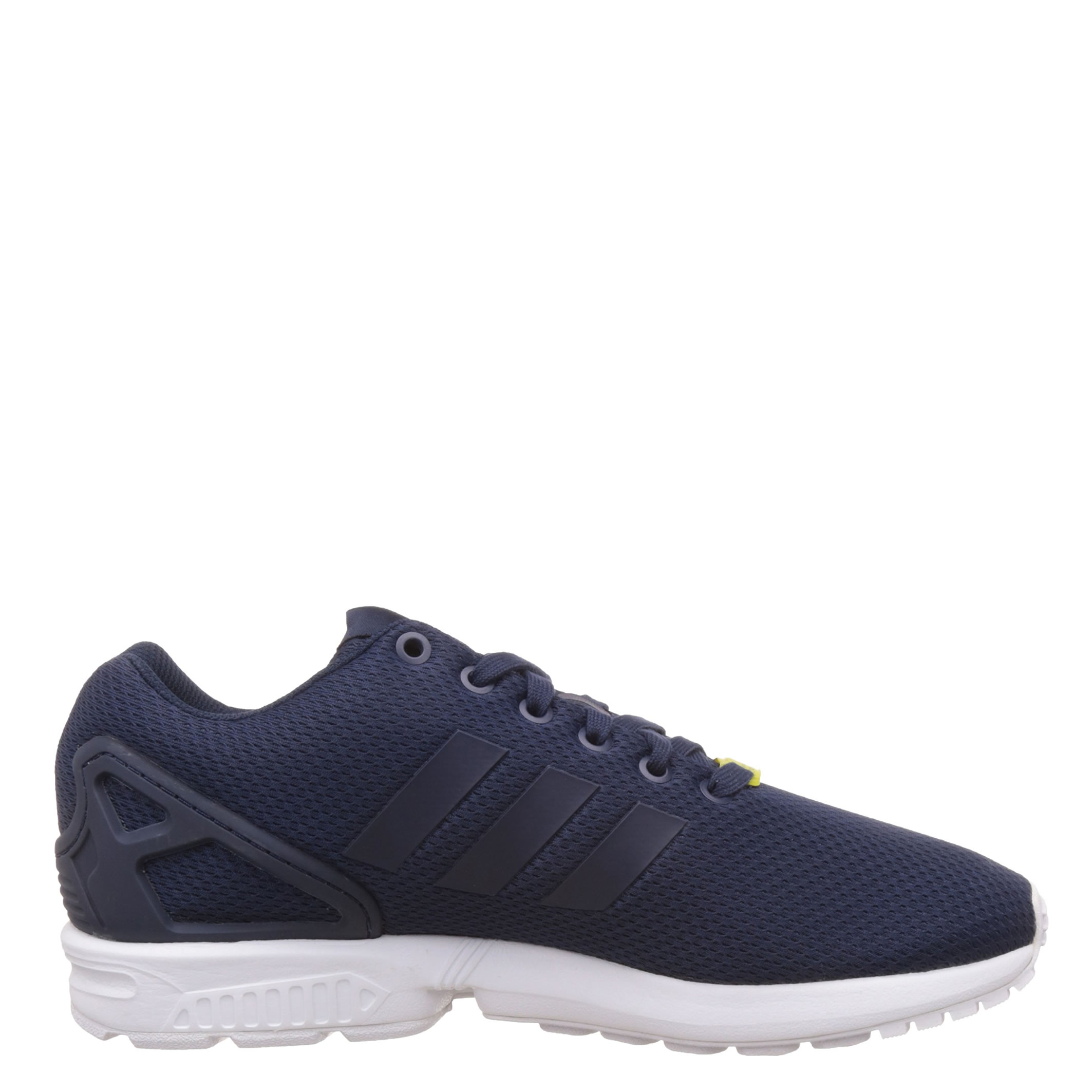 f82008e0ba386 Adidas ZX Flux Low-Top Trainers in Navy White