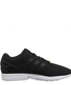 Adidas ZX Flux trainersBlack White Side
