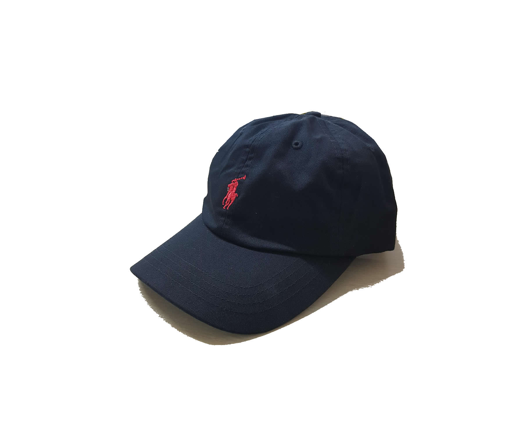 d86d920dad1 Ralph Lauren Sports Baseball Cap in Black With Red Small Pony Black. Small Red  Pony