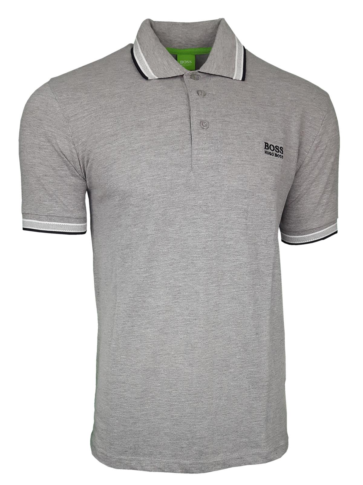fe45e33f2 Hugo Boss Paddy Pro. Short Sleeve Polo Shirt. Modern Fit in Grey ...