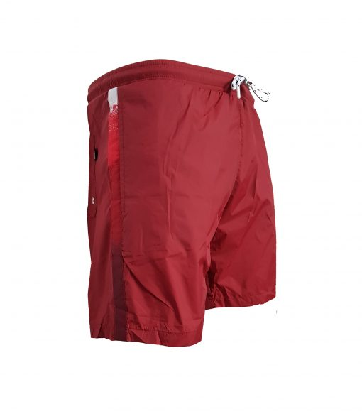 43b44af44 Hugo Boss Polyester Swim Shorts in Red | INTOTO7 Menswear