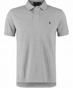 ralph lauren LIGHT GREY SHORT SLEEVE polo shirt