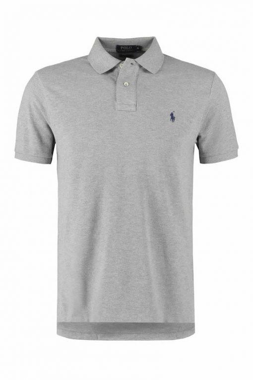 ralph lauren LIGHT GREY SHORT SLEEVE polo shirt