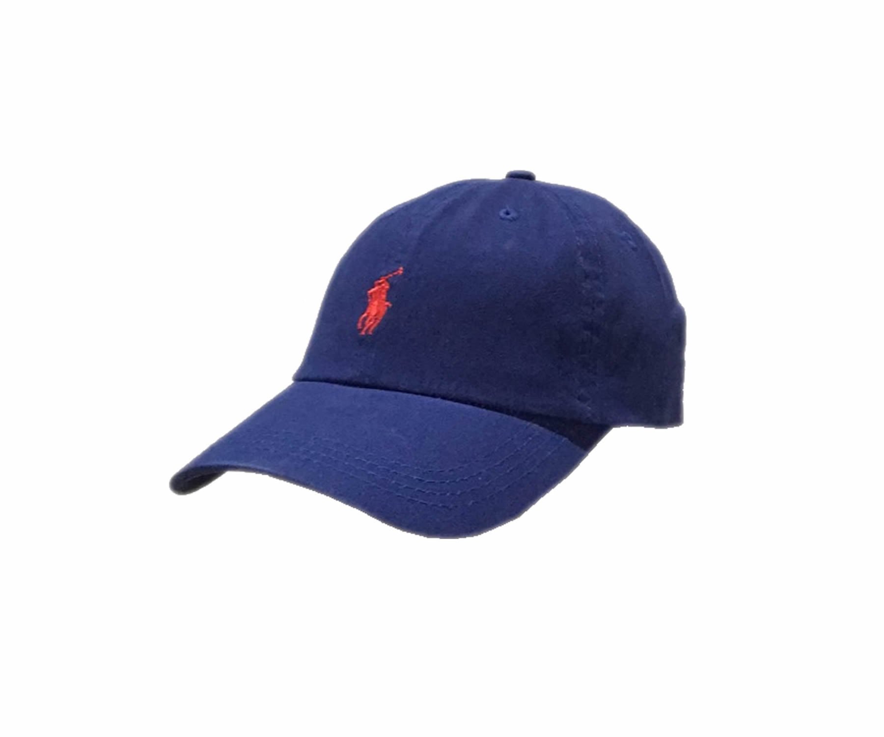 874ba079 Ralph Lauren Sports Baseball Cap in Navy Blue With Red Small Pony ...