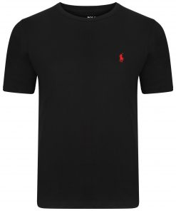 Ralph-Lauren-Crew-Short-Sleeve-TShirt-Black