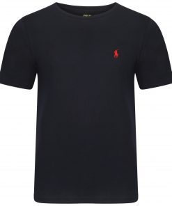 Ralph-Lauren-Crew-Short-Sleeve-TShirt-Navy-Blue