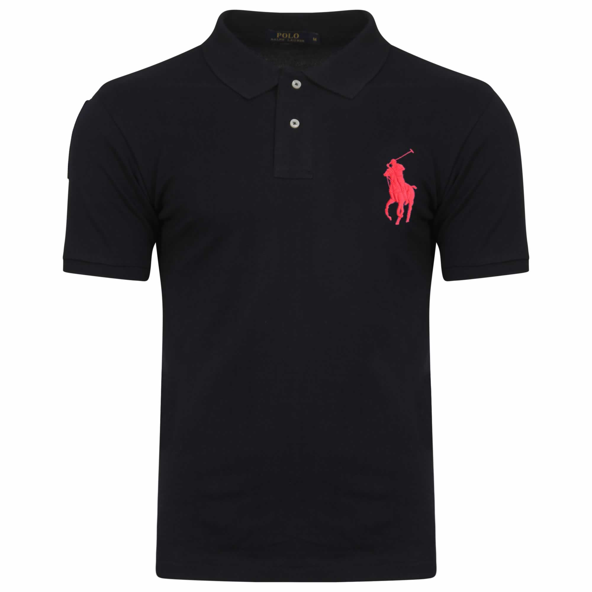Ralph Lauren Short Sleeve Big Pony. Polo Shirt. Custom Fit in Navy ... b22f6e915