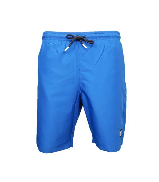 Stone Island Polyester Swim Shorts. Badge Logo in