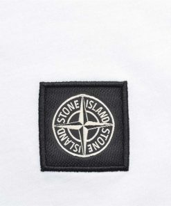 Stone Island Long Sleeve Crew T-Shirt. Regular Fit in