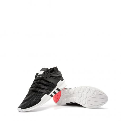 EQT ADV Support Primeknit Black Turbo rear