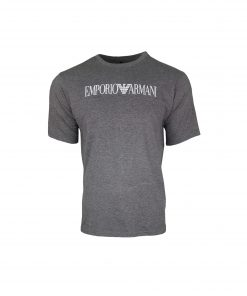 Emporio Armani Men's Printed Crew T Shirt. Short Sleeve