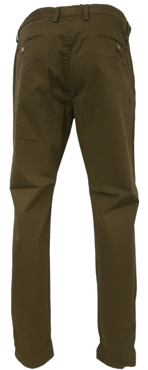 Ralph Lauren Chino Trousers. Stretch Preston Pants in Brow