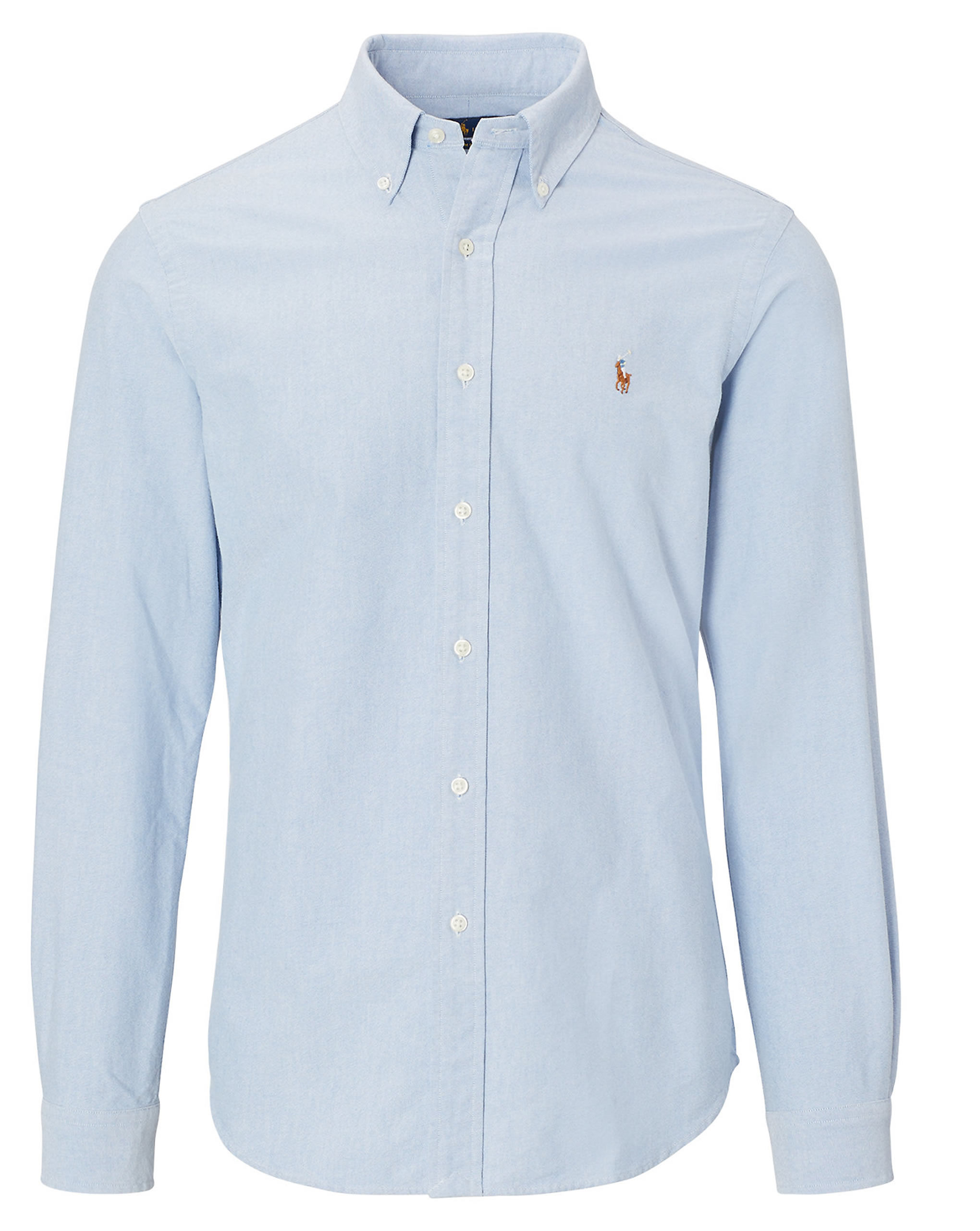 83aba9c740a5 Ralph Lauren Casual Oxford Shirt. Custom Fit in Blue