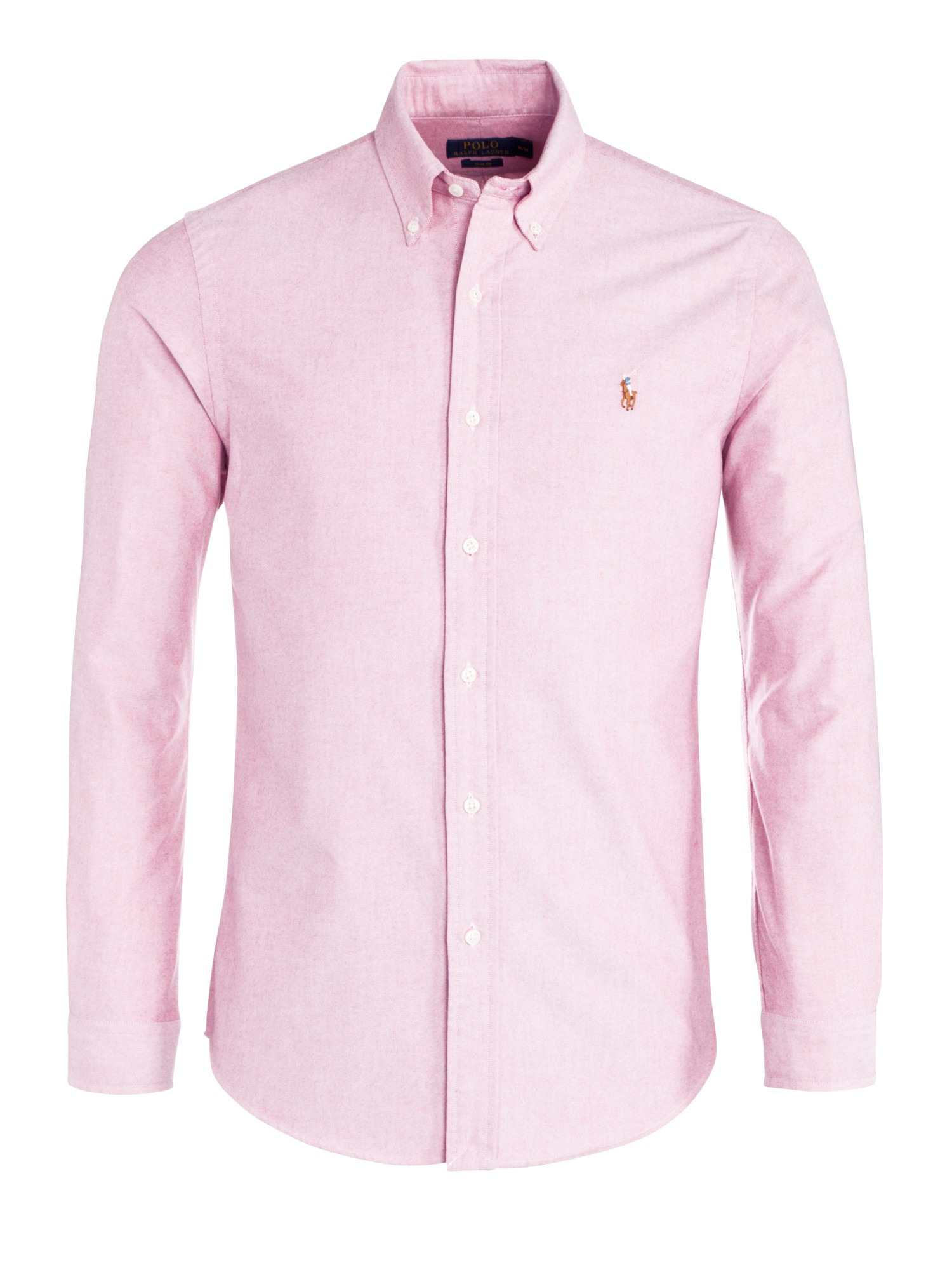 0284539d8 Ralph Lauren Casual Oxford Shirt. Custom Fit in Pink | INTOTO7 Menswear