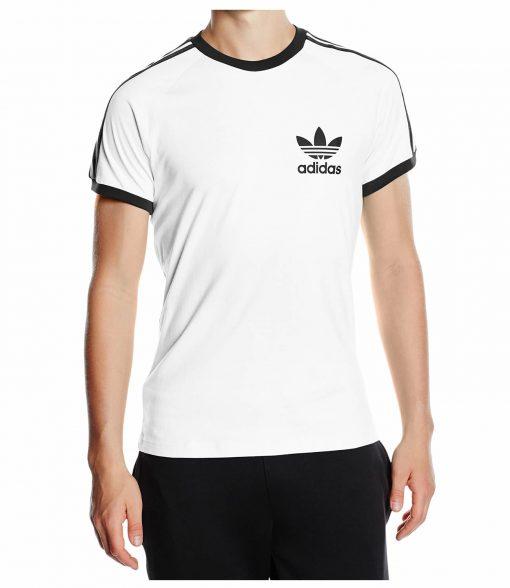 Adidas Originals California White Short Sleeve Crew T Shirt