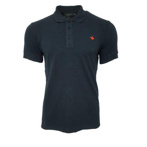 DSQUARED2 SS POLO IN NAVY