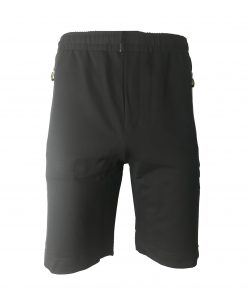 Hugo Boss Cotton Athleisure Jogger Shorts in Navy Blue
