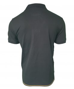 Hugo Boss Polo Shirt. Short Sleeve with Golden Placket Rear