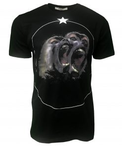Givenchy Black Monkey Brothers Cuban T Shirt