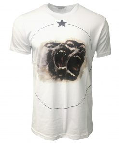 Givenchy Monkey Brothers Cuban T Shirt White