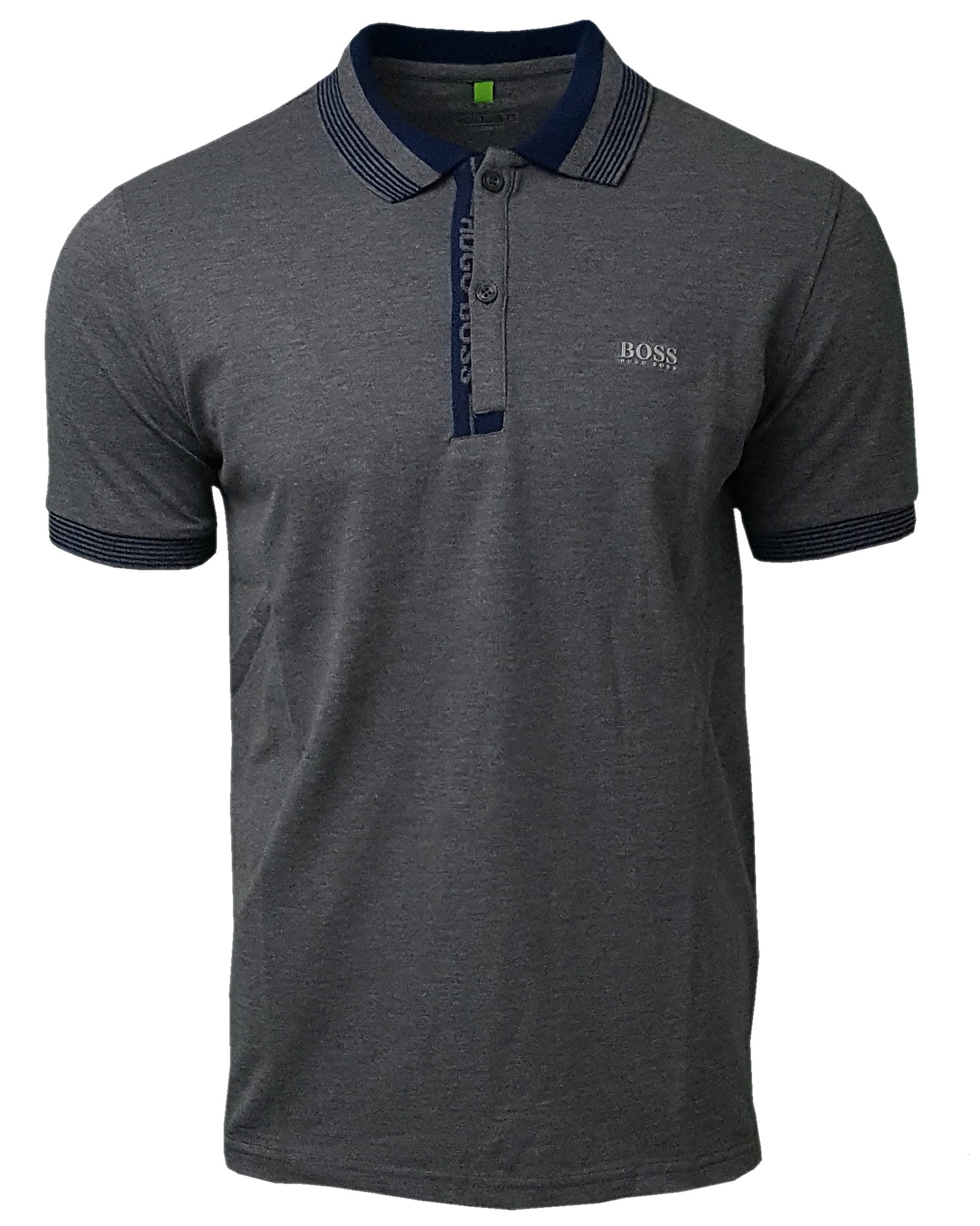 368da6e6058 Hugo Boss Paule Polo Shirt. Short Sleeve in Grey