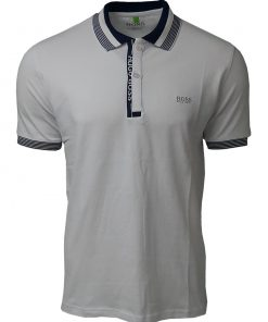 Hugo Boss Paule Short Sleeve Polo Shirt - White