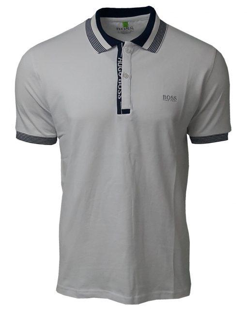 Hugo Boss Paule Short Sleeve Polo Shirt - White