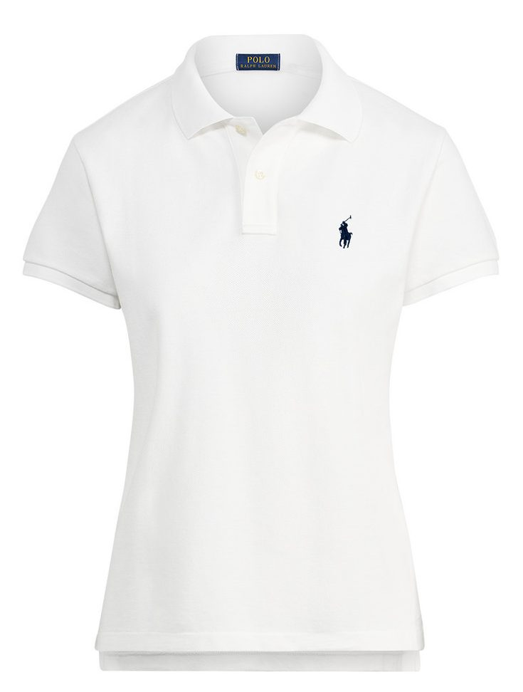 71de21a32 Ralph Lauren Women's Polo Shirt Small Pony. The Skinny Polo in White ...