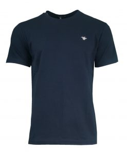 DIOR Classic Bee Mens Short Sleeve T Shirt in Navy Blue