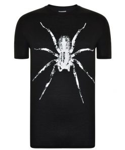 125 LANVIN SPIDER T SHIRT BLACK