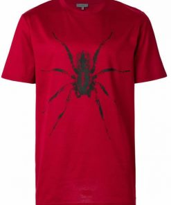 125 LANVIN SPIDER T SHIRT RED