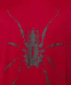 125 LANVIN SPIDER T SHIRT RED CLOSE-UP
