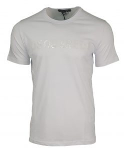 DSQUARED SEQUIN T SHIRT WHITE