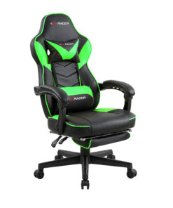 luxury life gaming office reclining rising lift chair green