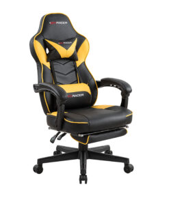 luxury life gaming office reclining rising lift chair yellow