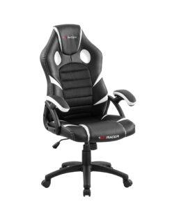 luxury life nitro gaming chair - white
